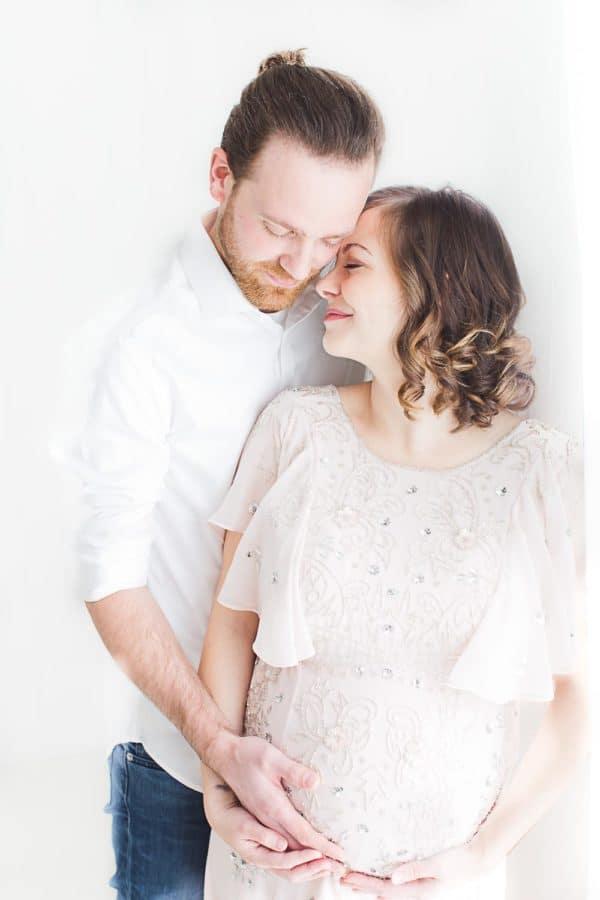photographe de grossesse en couple à toulouse