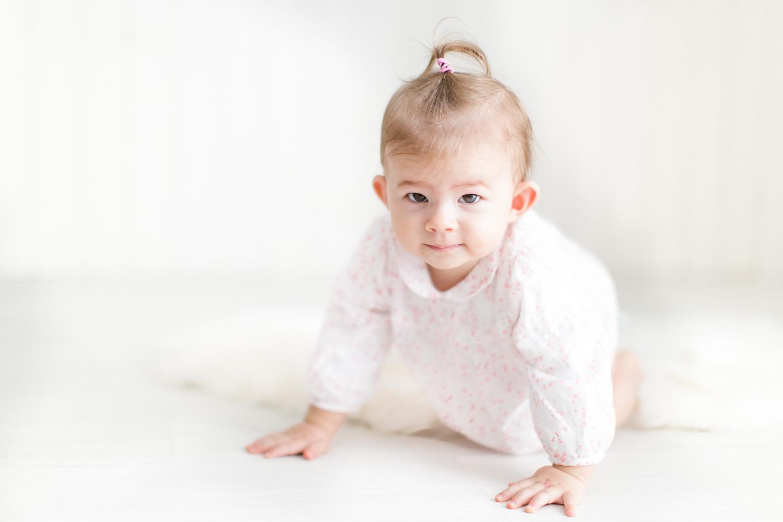 portrait bebe assis, photographe toulouse