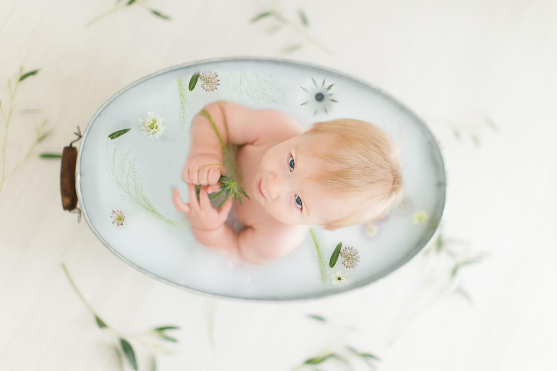 photos bain de lait bébé toulouse